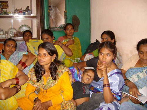 Self Help Group Meeting